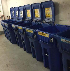 recycling totes - Xerowaste