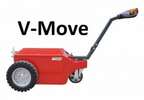 XeroWaste Solutions | Verhagen Leiden V-Move XL+ bin mover, dumpster tug or shopping cart pusher