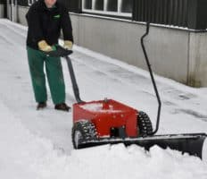 V-Move XL bin mover or dumpster tug with optional snow plow
