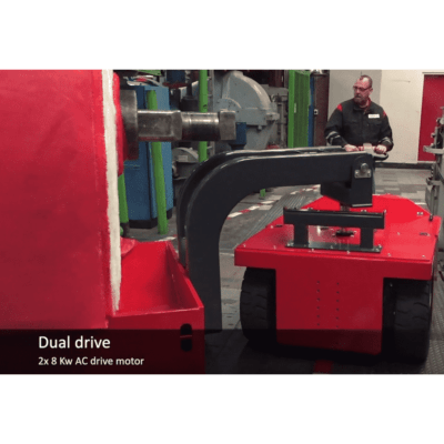 Xerowaste | V-Move 4XL heavy-duty load mover with auto lifter
