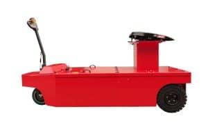 2019 Xerowaste V-Move 25t semi-remorque déménageur ou tracteur à conducteur marchant vue latérale du remorqueur