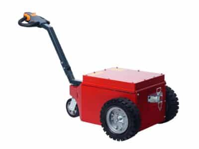 Xerowaste.ca | V-Move XL walk-along electric tug or mover | Industrial electric pedestrian tug