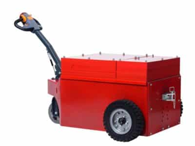 Xerowaste V-Move XXL electric tug with added weight | Industrial electric pedestrian tug