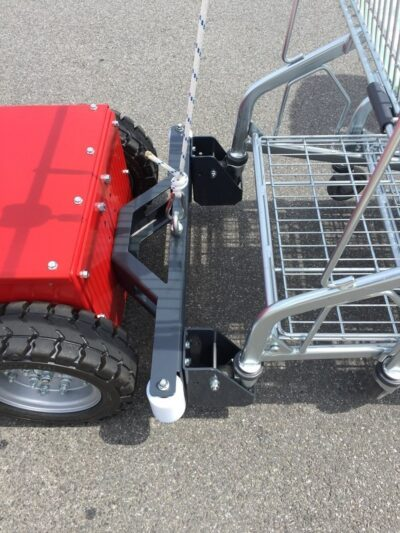 V-Move XL+ Grocery cart pusher hitch | Xerowaste.ca
