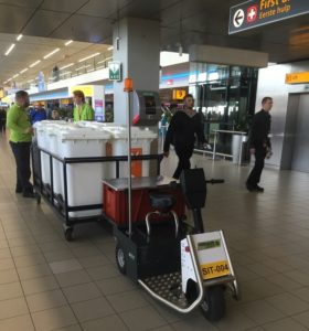 Xerowaste V-Move 650 electric tug