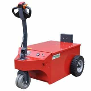 Xerowaste.ca | V-Move XXL industrial electric mover picture | Industrial electric pedestrian tug | heavy-duty tug mover