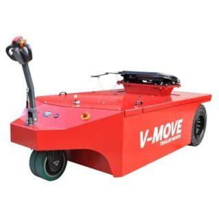 Xerowaste.ca | V-Move 40t semi Trailer Mover 40 MT + capacidad de movimiento para mover semirremolques en su patio. También conocido como remolcador de tractor de terminal para semirremolques en movimiento