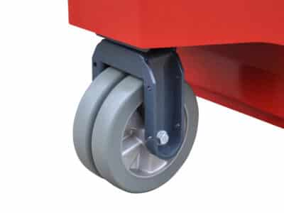 Xerowaste V-Move XXL walk-along electric mover double front casters | Industrial tug