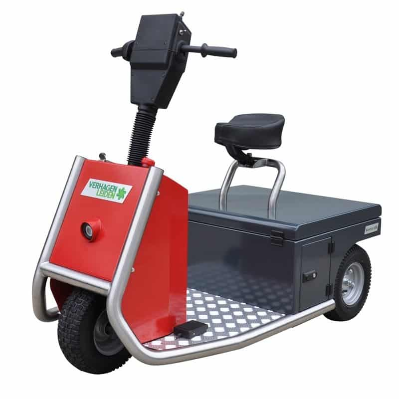 Xerowaste V-Move 650 electric tug - stand up or sit down versions | Vehicle tug | Stock chaser