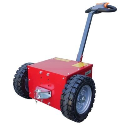Xerowaste V-Move L electric tug | Cart mover | Dumpster tug | Industrial electric pedestrian tug
