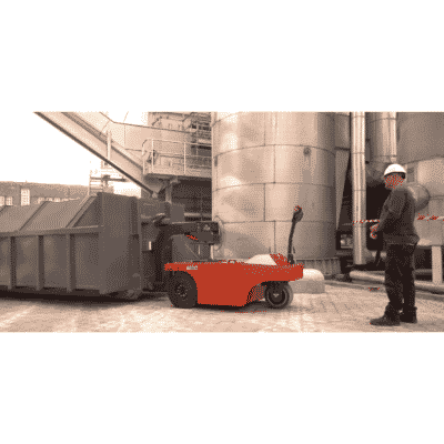 Xerowaste | V-Move 4XL Heavy-Duty Load Mover ou Industrial Tug Moving RO Compactor Bin - Dumpster Mover Tug