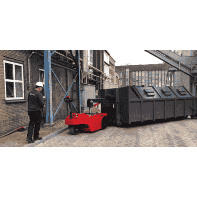 Xerowaste | V-Move 4XL heavy-duty load mover remote control of RO compactor bin