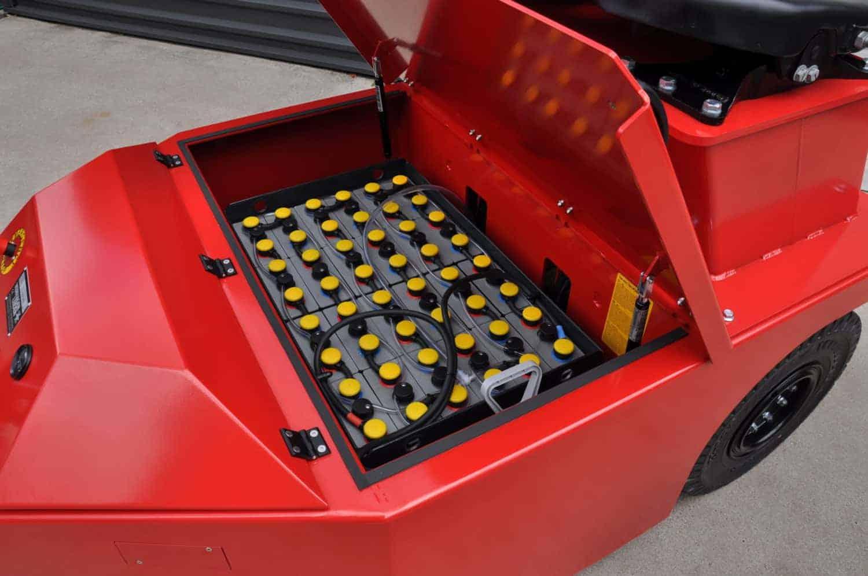 Xerowaste.ca | V-Move 4XL Compartiment de batterie pour chargeur industriel | Remorqueur industriel | Remorqueur d'avion | Transporteur de wagons