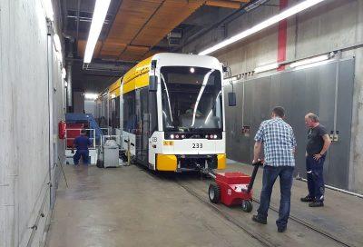 Xerowaste.ca | V-move XL + tren de cercanías en movimiento