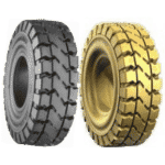 Xerowaste | V-Move solid tire and steel rim set