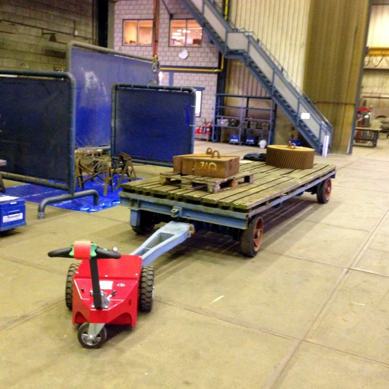 Xerowaste.ca | V-Move XL industrial load mover pulling cart