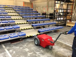 V-move XL moving bleachers | Xerowaste.ca