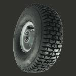 Xerowaste | Pneu 3 saisons pour le tracteur de remorquage V-move 650